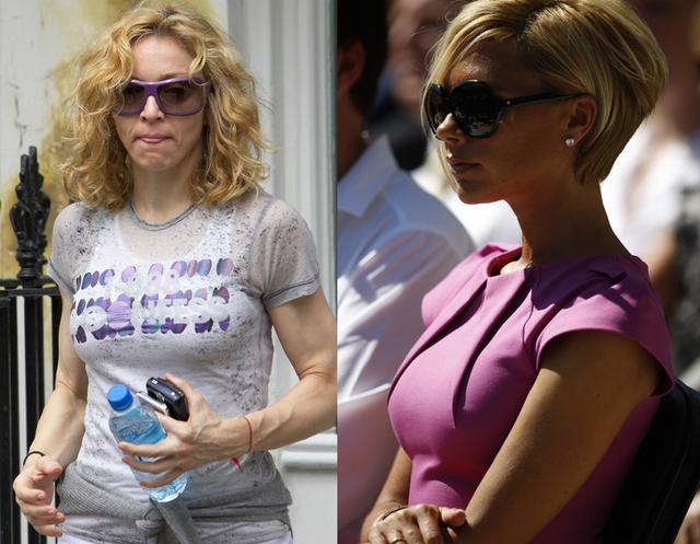 Jak Madonna zbyła Victorię Beckham