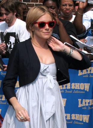 Sienna Miller ubiera się dla siebie