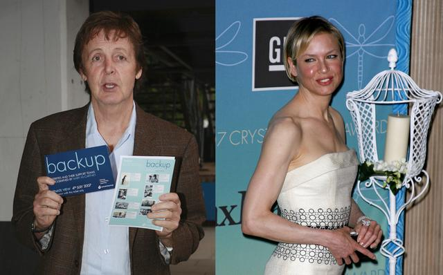 Paul McCartney nie jest z Zellweger