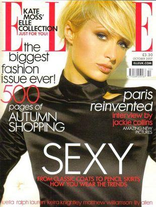 Paris Hilton dla Elle