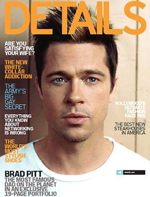 Brad Pitt o starzeniu się