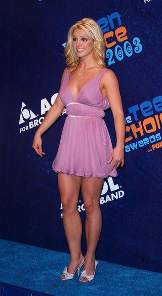 Britney znowu bez majtek!