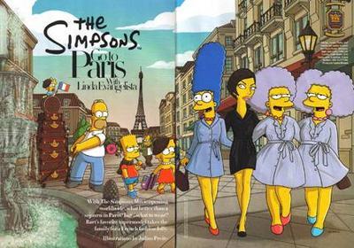 Simpsonowie w Harper's Bazaar