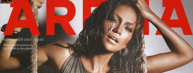 Jennifer Lopez dla Areny (FOTO)