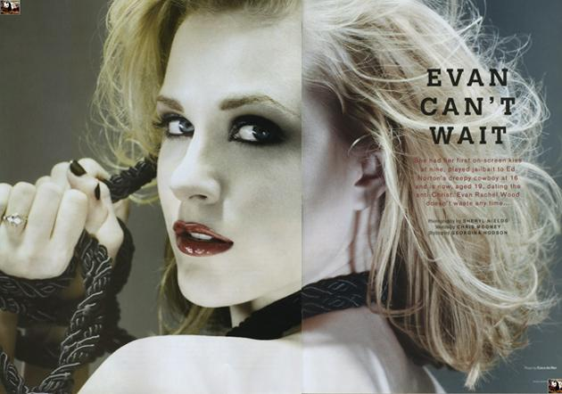Evan Rachel Wood dla Areny (FOTO)