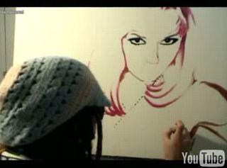 Gwen Stefani jak malowana...