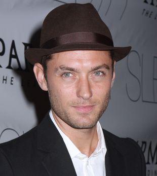 Dlaczego Jude Law nosi kapelusz?