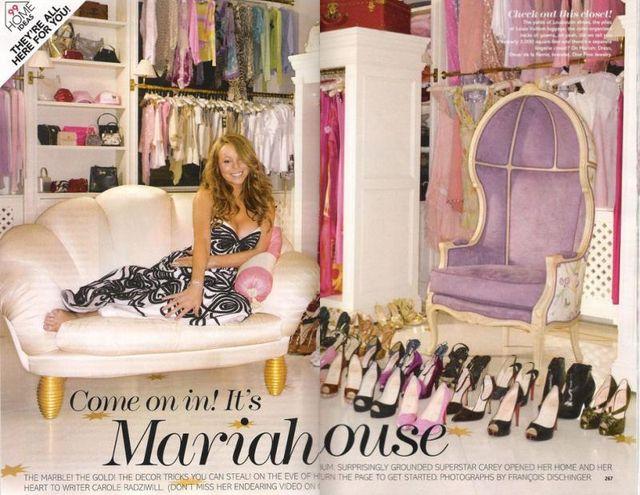 Mariah Carey opowiada o swoim domu...