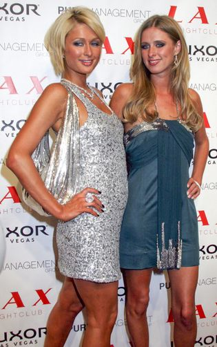 Nicky i Paris Hilton na urodzinach (FOTO)