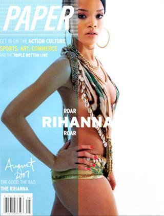Rihanna dla Paper Magazine