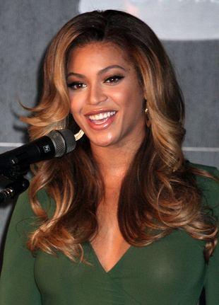 Beyonce i jej nowy telefon (FOTO)