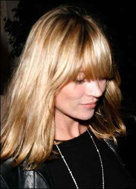 Kate Moss zmieniła fryzurę