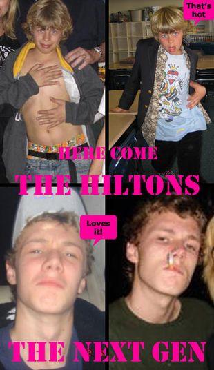 Paris Hilton wciąga brata