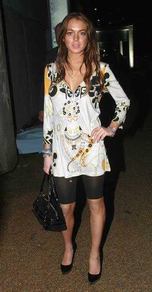 Lindsay Lohan odstrasza