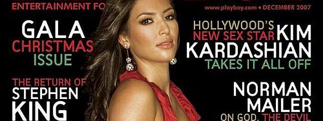 Kim Kardashian w Playboyu (FOTO)