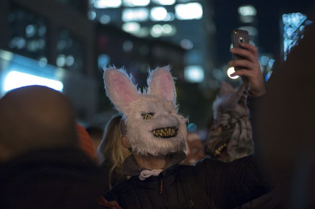 Halloweenowa parada w Nowym Jorku mimo ataku terrorystycznego (ZDJĘCIA)