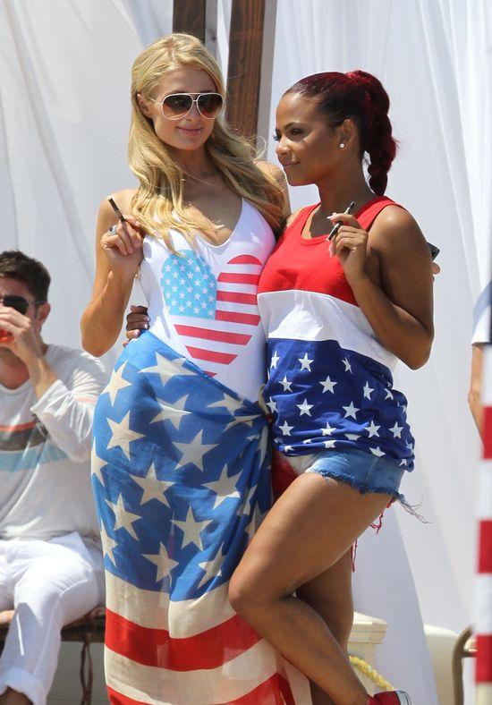 Paris Hilton i Christina Milian świętują razem... (FOTO)