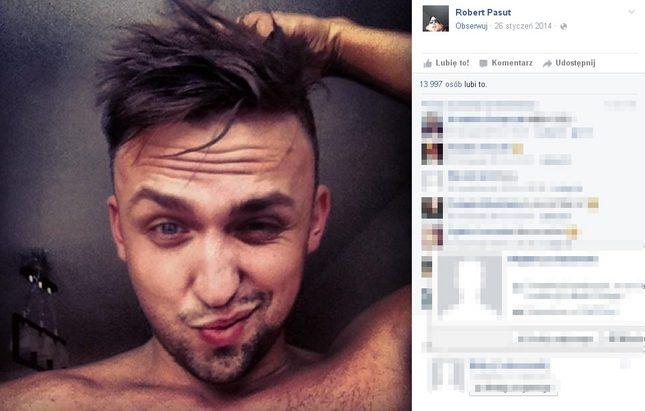 Robert Pasut został najładniejszą dziewczyną na polskim FB