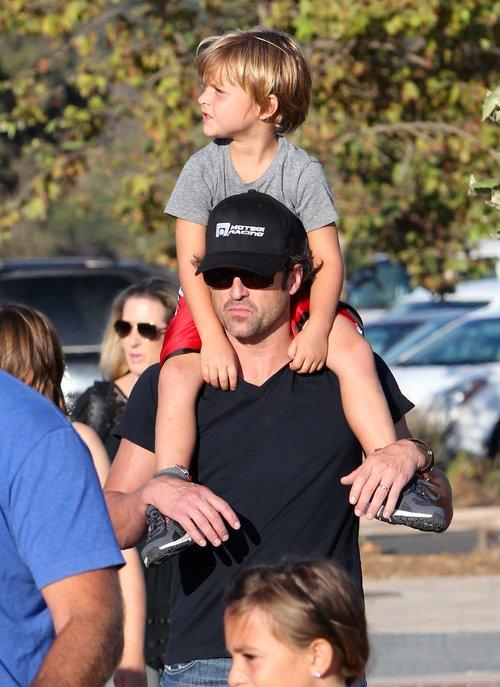 Patrick Dempsey z synem - podobni? (FOTO)