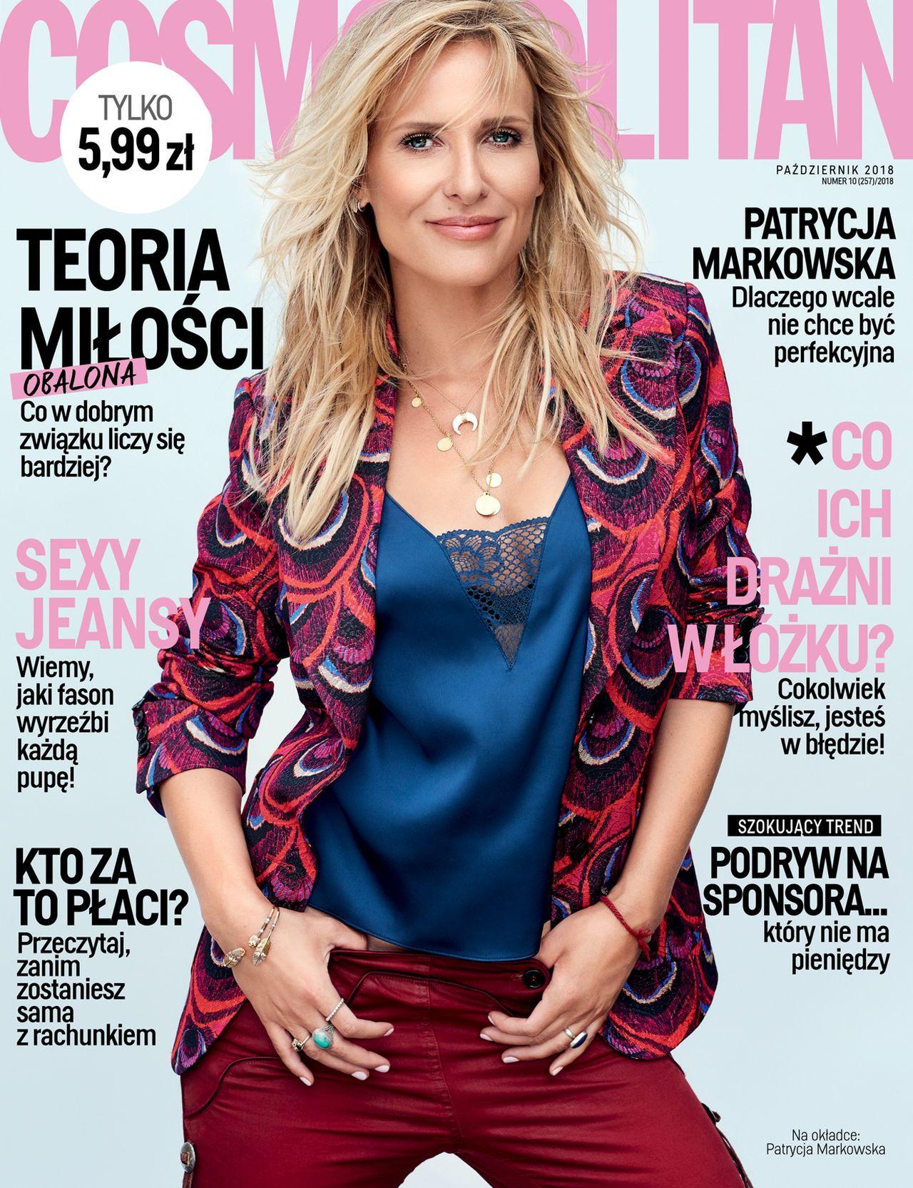 Patrycja Markowska w Cosmopolitan: Czułam się MAŁYM TROLLEM z Józefowa