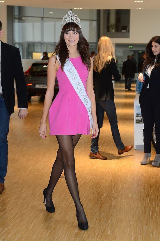 Miss Polonia odebrała nagrodę (FOTO)
