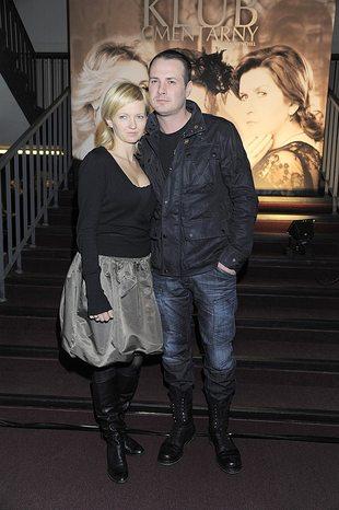 Paweł Małaszyński z żoną w teatrze (FOTO)
