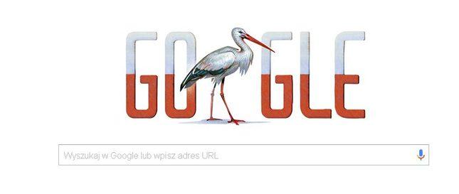 Krystynie Paw�owicz nie podoba si� bocian na Google