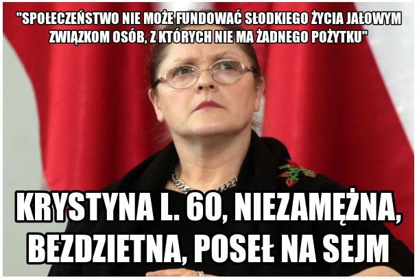Pos�anka Anna Grodzka marsza�kiem sejmu?