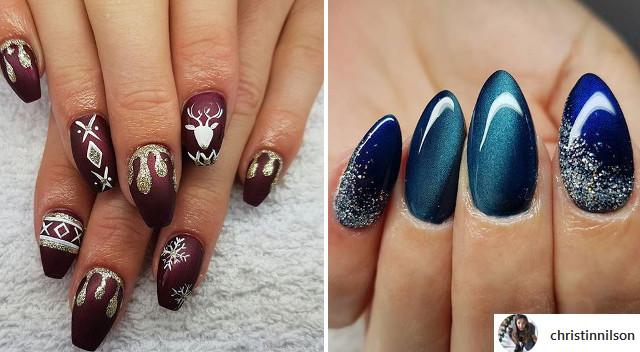 Poznaj najnowsze trendy w zimowym manicure!