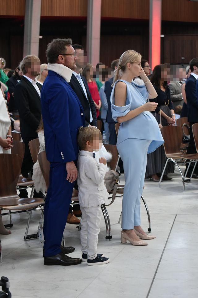 Edyta i Cezary Pazura na komunii swojej najstarszej córki (EKSKLUZYWNE ZDJĘCIA)