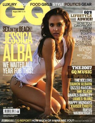 Jessica Alba dla GQ