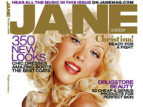 Pomarańczowa Christina Aguilera