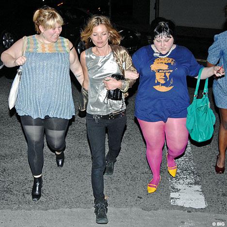 Kate Moss przybiera na wadze