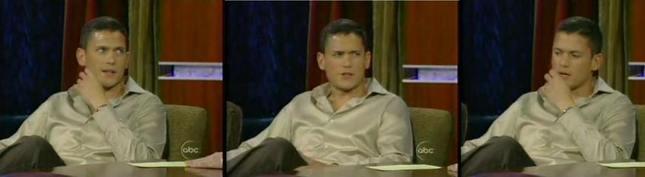 Wentworht Miller w talkshow