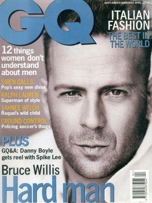 Zniesmaczony Bruce Willis