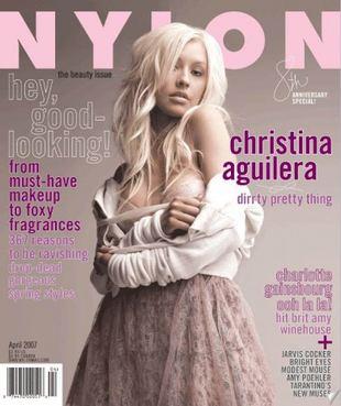 Christina Aguilera w Nylonie