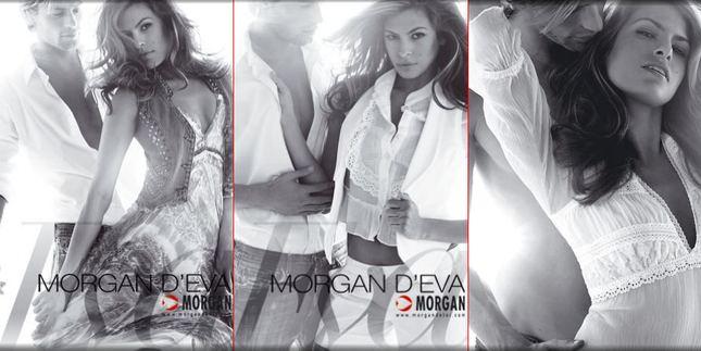 Eva Mendes dla Morgana