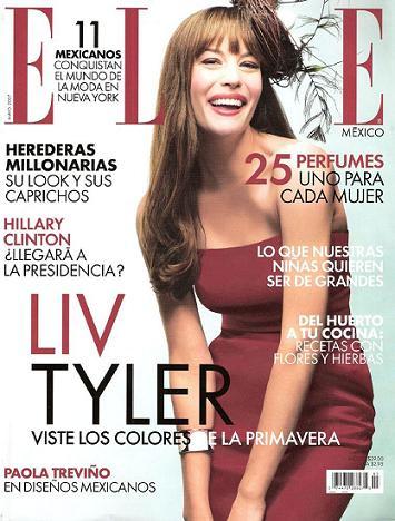 Liv Tyler w Elle