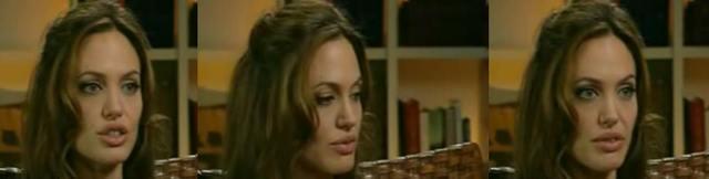 Angelina Jolie płacze podczas wywiadu