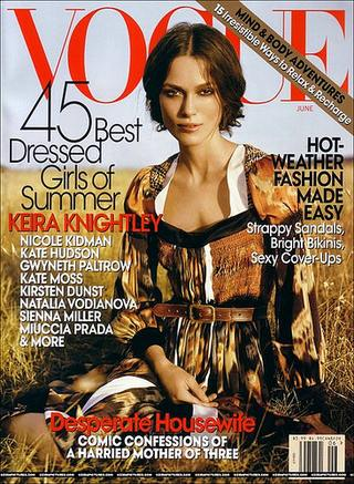 Keira Knightley w Vogue