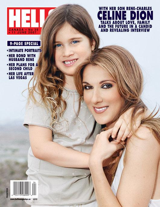Celine Dion z synem