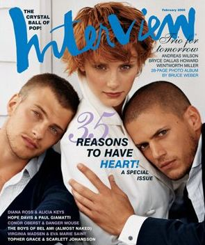 Wentworth Miller w Vogue
