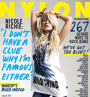 Nicole Richie zawsze nosi buty