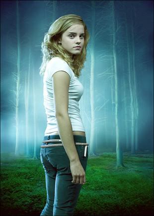 Rozkapryszona Emma Watson