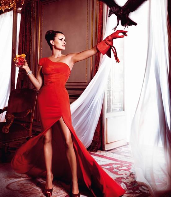 Gorąca Penelope Cruz w kalendarzu Campari