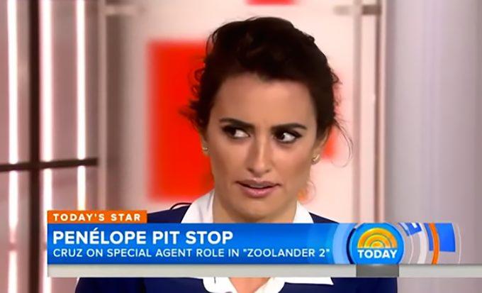 Dziennikarka do Penelope Cruz: Masz brzydkie stopy