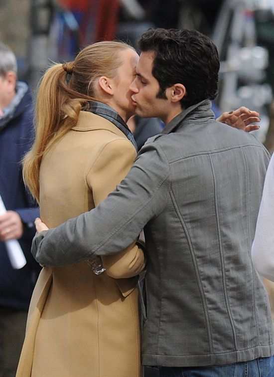 Penn Badgley o całowaniu Blake Lively