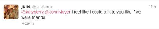 John Mayer i Katy Perry kupili swojej fance...