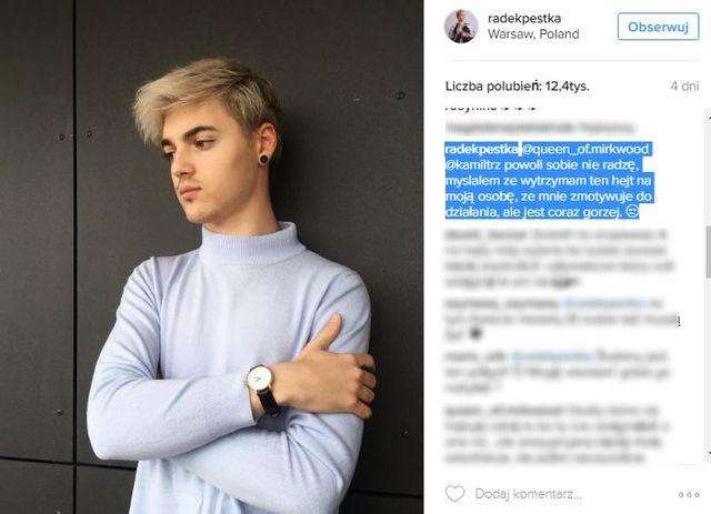Radek Pestka rozważa decyzję, która ogromnie zasmuciła jego fanów