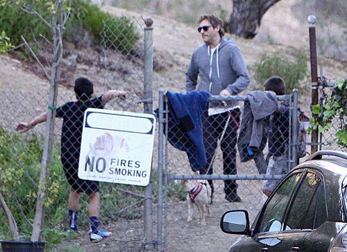 Joaquin Phoenix na rodzinnej wycieczce